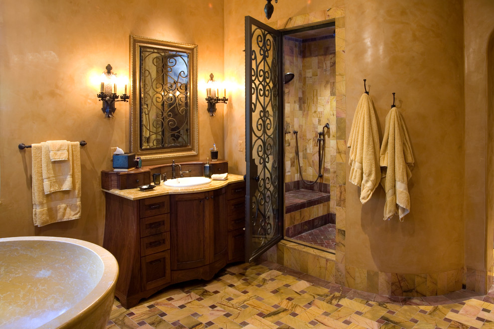 Дизайн ванной комнаты в итальянских домах фото